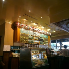 Photo taken at DÔME Café by Maverick Y. on 3/10/2013