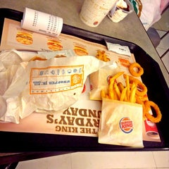 Photo taken at BURGER KING by Eunike D. on 6/4/2013