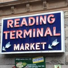 Photo taken at Reading Terminal Market by Joshua on 1/20/2013