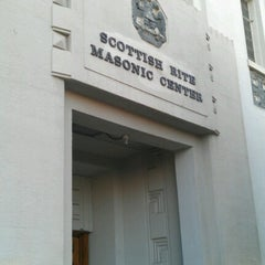Photo taken at Scottish Rite Temple by Kevin N. on 9/28/2012