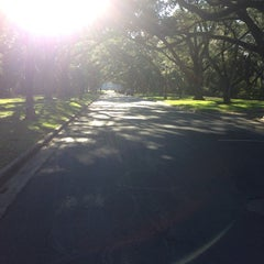 Photo taken at Lovett Hall (Rice University) by Marcos Ave G. on 11/3/2013