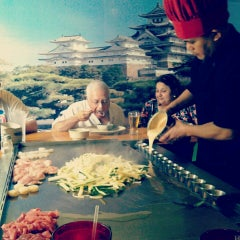 Photo taken at Osaka Japanese Steakhouse & Sushi Bar by Chase T. on 2/24/2013
