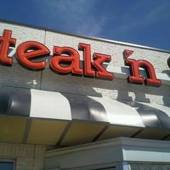 Photo taken at Steak 'n Shake by Gerry F. on 3/16/2013