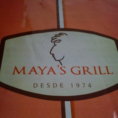 Photo taken at Maya's Grill by Fergie W. on 10/21/2013