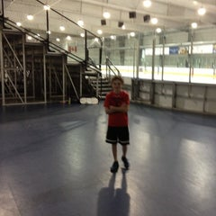 Photo taken at Allyn Arena - Skaneateles YMCA by Tim L. on 10/25/2012