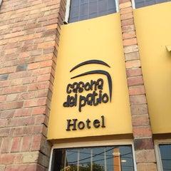 Photo taken at Hotel Casona del Patio by Pedro L. on 2/19/2013