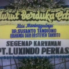 Photo taken at Rumah Duka Jelambar by Ayas K. on 9/10/2014
