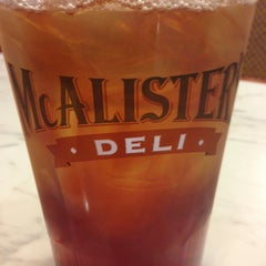 Photo taken at McAlister's Deli by Lauren W. on 2/25/2013