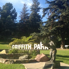Photo taken at Griffith Park - Western Ave Entrance by Rj K. on 11/27/2014