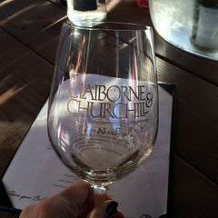 Photo taken at Claiborne & Churchill Vintners by Hillary K. on 2/15/2015