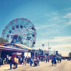 Photo taken at Coney Island Beach & Boardwalk by Chelsea D. on 5/27/2013