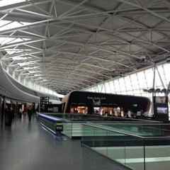 Photo taken at Zürich Airport (ZRH) by Noly Khemin K. on 4/22/2013