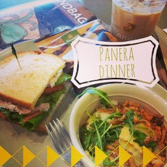 Photo taken at Panera Bread by Elaine M. on 10/4/2014