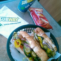 Photo taken at Subway by Johnny M. on 6/18/2013