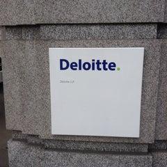 Photo taken at Deloitte by Dace Elza D. on 1/16/2014