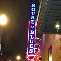 Photo taken at House of Blues by Nadina on 12/27/2012