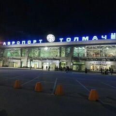 Photo taken at Международный аэропорт Толмачёво / Tolmachevo International Airport (OVB) by Евгений Б. on 7/9/2013