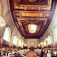Photo taken at New York Public Library by Darwin D. on 4/20/2013
