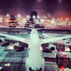 Photo taken at Frankfurt Airport (FRA) by Jared Z. on 11/21/2013