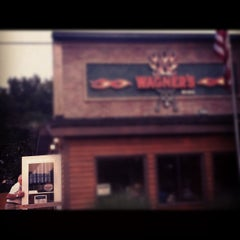 Photo taken at Wagner's Ribs by Nat F. on 9/16/2012
