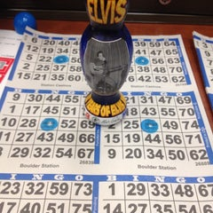 Photo taken at Bingo At Boulder Station by Annamarie S. on 5/28/2013
