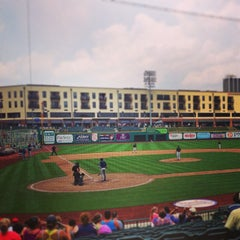 Photo taken at Fort Wayne TinCaps Baseball by Alexander P. on 6/26/2013