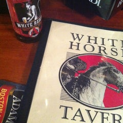 Photo taken at White Horse Tavern by Lauren K. on 4/19/2013