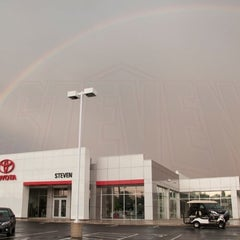 Photo taken at Steven Toyota Scion by Lindsey S. on 2/23/2013
