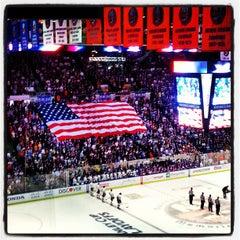 Photo taken at Nassau Veterans Memorial Coliseum by Jeff Z. on 5/5/2013