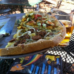 Photo taken at Mellow Mushroom by Marlon W. on 10/10/2012