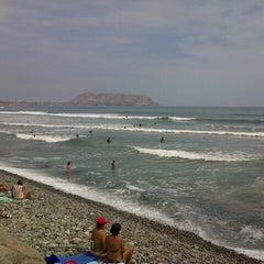Photo taken at Circuito de Playas - Miraflores by Silvia M. on 3/3/2013