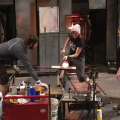 Photo taken at The Hot Shop at the Museum Of Glass by Anita G. on 12/20/2012