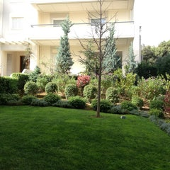 Photo taken at American College Of Greece- Residence 1 by Litsa P. on 4/5/2013