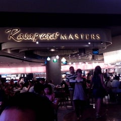 Photo taken at Rasapura Masters Food Court by Bayu K. on 5/16/2013