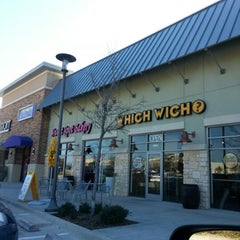 Photo taken at Which Wich Superior Sandwiches by Tim M. on 1/21/2013
