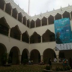 Photo taken at UADY (Edificio Central) by Darío L. on 3/19/2013