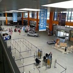 """Photo taken at Cluj-Napoca """"Avram Iancu"""" International Airport (CLJ) by Ale W. on 7/25/2013"""