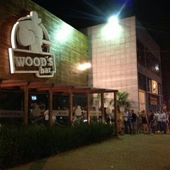 Photo taken at Wood's Bar by Rogério C. on 3/7/2013