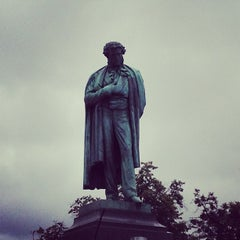 Photo taken at Памятник А. С. Пушкину by Кристина П. on 7/27/2013