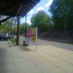 Photo taken at Franklin/Dean College MBTA Station by Manuel B. on 5/7/2013