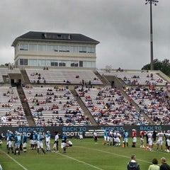 Photo taken at Gibbs Stadium by Danny S. on 8/2/2014