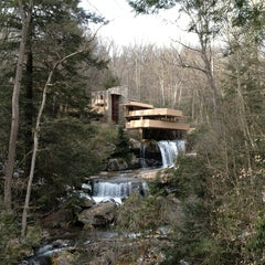 Photo taken at Fallingwater by Tania G. on 3/21/2013
