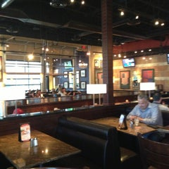 Photo taken at BJ's Restaurant and Brewhouse by Jennifer S. on 4/12/2013