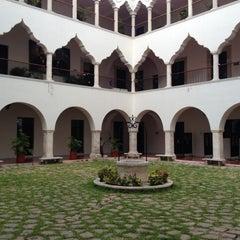 Photo taken at UADY (Edificio Central) by Josue Q. on 5/9/2013