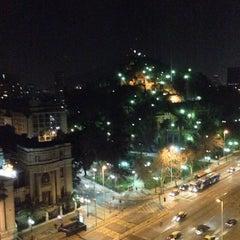 Photo taken at Hotel Mercure Santiago Centro by Gustavo J. on 7/13/2013