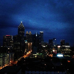 Photo taken at Meliá Atlanta by Mere N. on 7/8/2013