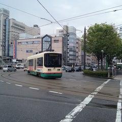 Photo taken at Toyama Station by Hiroyuki T. on 4/25/2013
