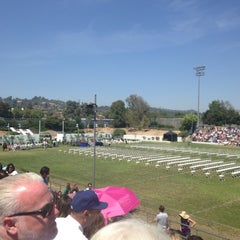 Photo taken at La Habra High School by Karen M. on 5/27/2014