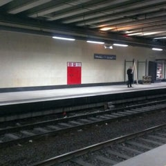 Photo taken at Gare de Bruxelles-Schuman / Station Brussel-Schuman by Joris K. on 10/29/2012