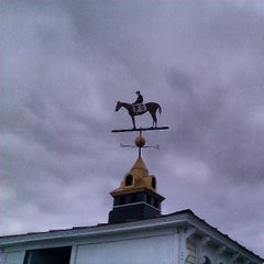 Photo taken at Pimlico Race Course by Jon S. on 5/20/2013